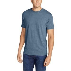100% Cotton Slim Fit T-Shirt - Storm Heather